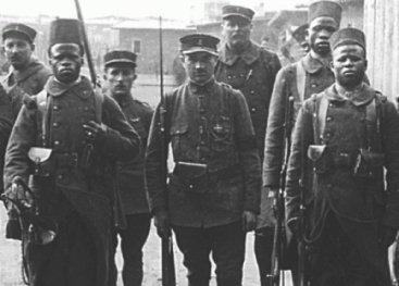 Afrikaanse soldaten in Duitsland