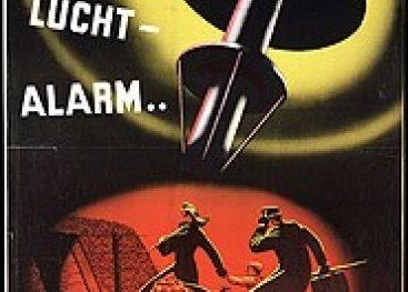 Poster luchtalarm.