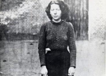 Laatste foto Hannie in gevangenis