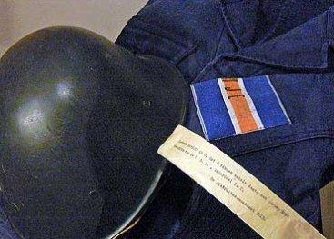 Uniform van de BS, de Binnenlandse Strijdkrachten