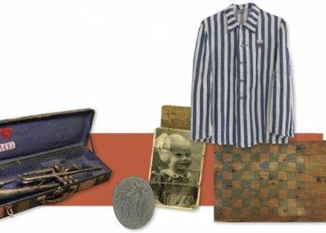 Overzicht van spullen van gevangenen in Dachau